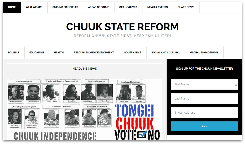 Chuuk Reform Movement